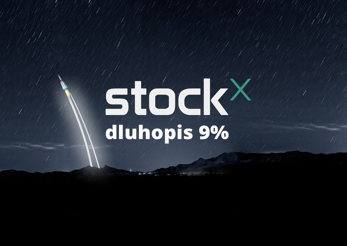 Dluhopis StockX 9% p a  | Invester - Everyone can invest